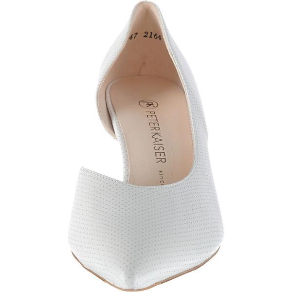 PETER  KAISER, CAETE Klassische Pumps, weiß  PETER Gute Qualität beliebte Schuhe e588e5