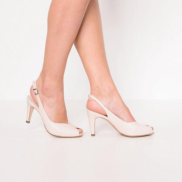 PETER KAISER, SANDRIE Sling-Pumps, beige  Gute Qualität beliebte Schuhe