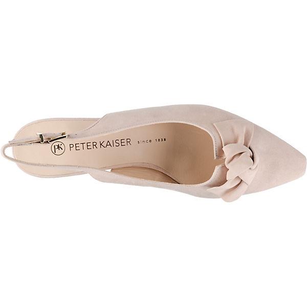 LATIZA beige Sling KAISER Ballerinas PETER 1Xq8pfwSx