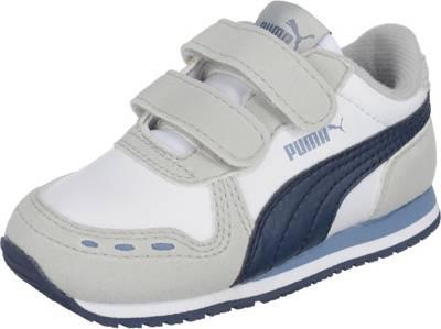 PUMA, Sneakers low SMASH V2 SD V PS für Jungen, dunkelblau