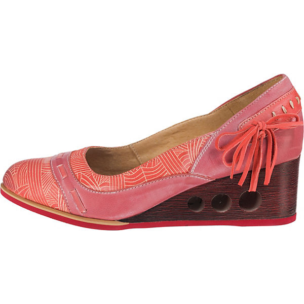 Maciejka Keilpumps rosa-kombi  Gute Qualität beliebte beliebte beliebte Schuhe 9f366d