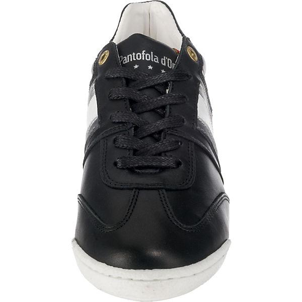 Pantofola Sneakers DONNE LOW IMOLA d'Oro kombi schwarz Low qrx8Iw8WnE