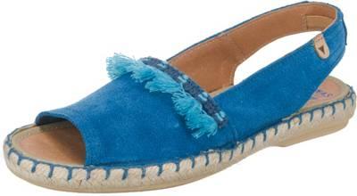 Verbenas Serraje für Damen (blau / 39) GwqZpTbJ2