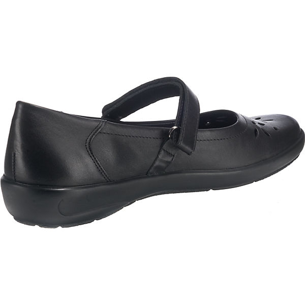 Semler, Flora Qualität Komfort-Ballerinas, schwarz  Gute Qualität Flora beliebte Schuhe 950357