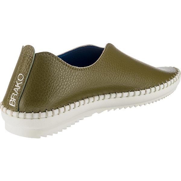 Brako, traveller Klassische Qualität Slipper, grün  Gute Qualität Klassische beliebte Schuhe 619b8b