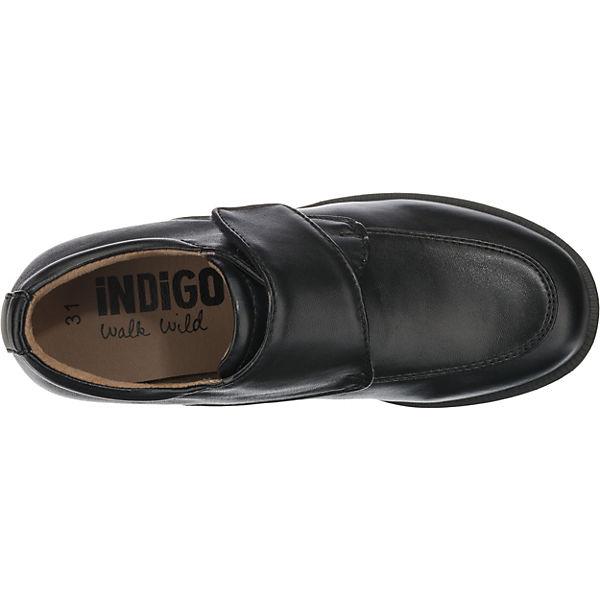 INDIGO Halbschuhe für Jungen schwarz