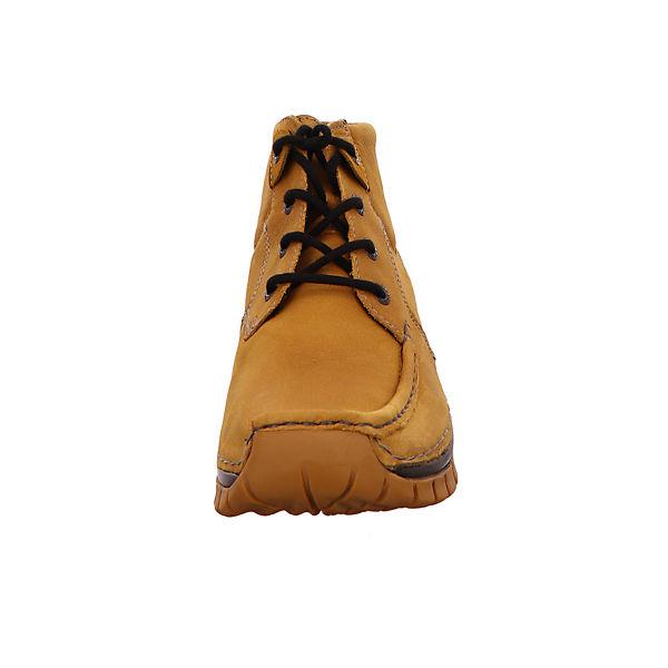 Wolky, Klassische Stiefeletten, gelb Gute Schuhe Qualität beliebte Schuhe Gute afcb97