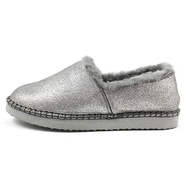 ara, Geschlossene Hausschuhe, silber  Gute Qualität beliebte Schuhe
