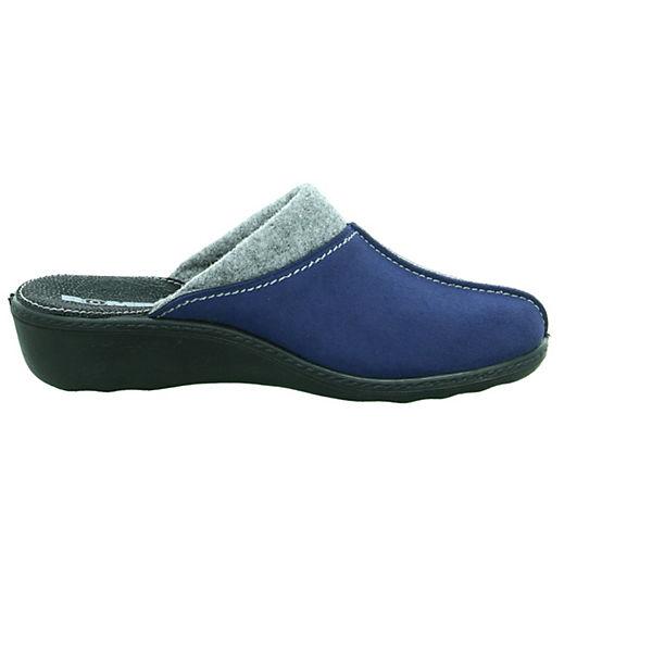 ROMIKA Pantoletten ROMIKA ROMIKA ROMIKA Pantoletten Pantoletten blau blau blau blau Pantoletten ROMIKA wwq8rOz