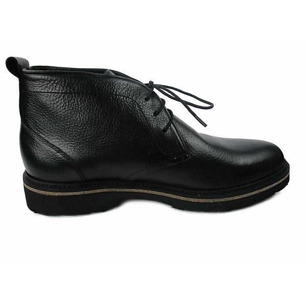 Solidus Schnürschuhe schwarz