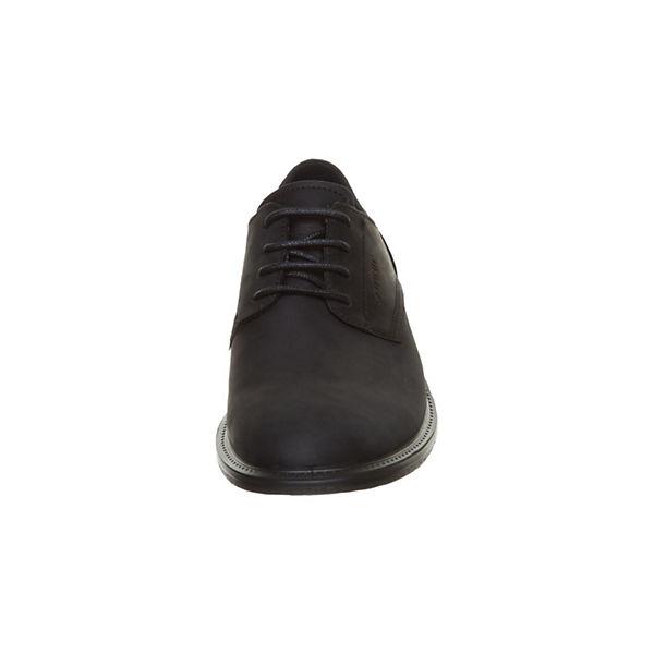 ecco Klassische beliebte Halbschuhe schwarz  Gute Qualität beliebte Klassische Schuhe aa27ea