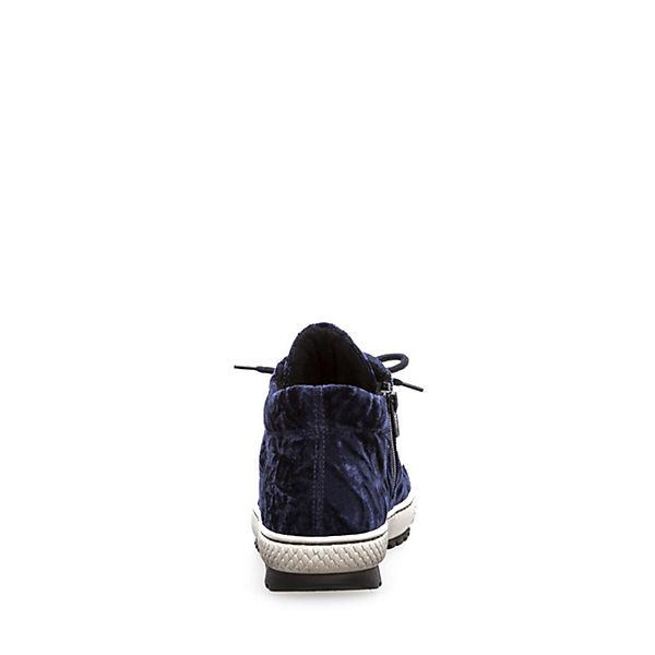 Gabor Schnürschuhe blau
