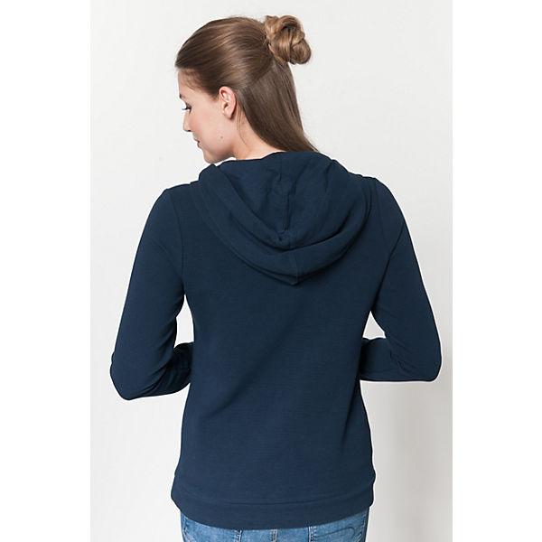 blau Sweatshirt TAILOR TAILOR Sweatshirt TOM TOM TAILOR TOM blau wZxOUqI