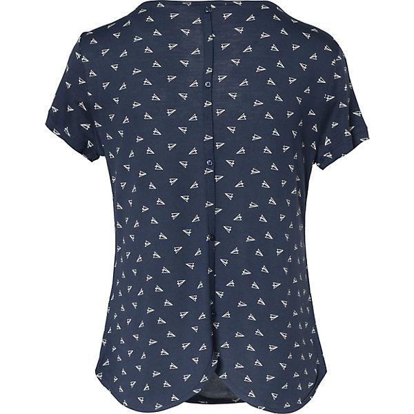 T TOM Denim TAILOR Shirt dunkelblau w08PBq8z