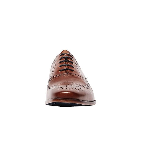 Van Lier, Business-Schnürschuhe, cognac beliebte  Gute Qualität beliebte cognac Schuhe 3d2f34