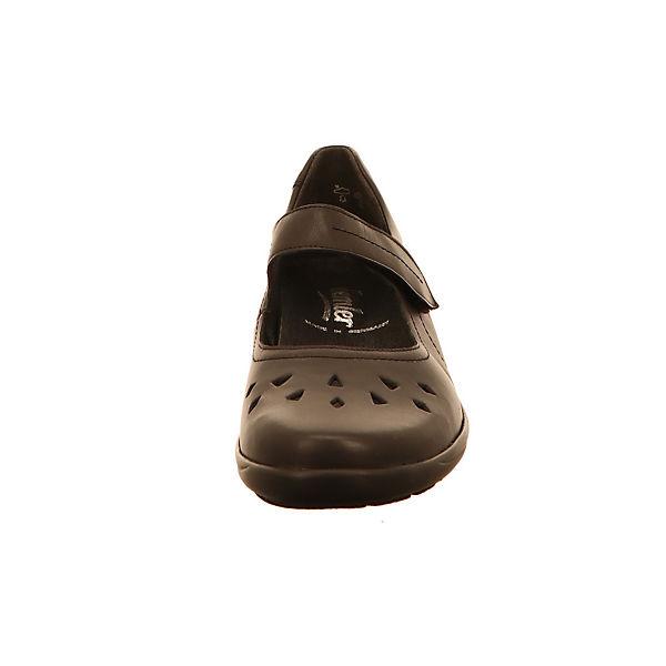 Semler, Offene Gute Halbschuhe, schwarz  Gute Offene Qualität beliebte Schuhe d1a860