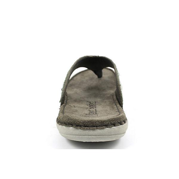 Josef Seibel, Zehentrenner, grau beliebte  Gute Qualität beliebte grau Schuhe 57290d