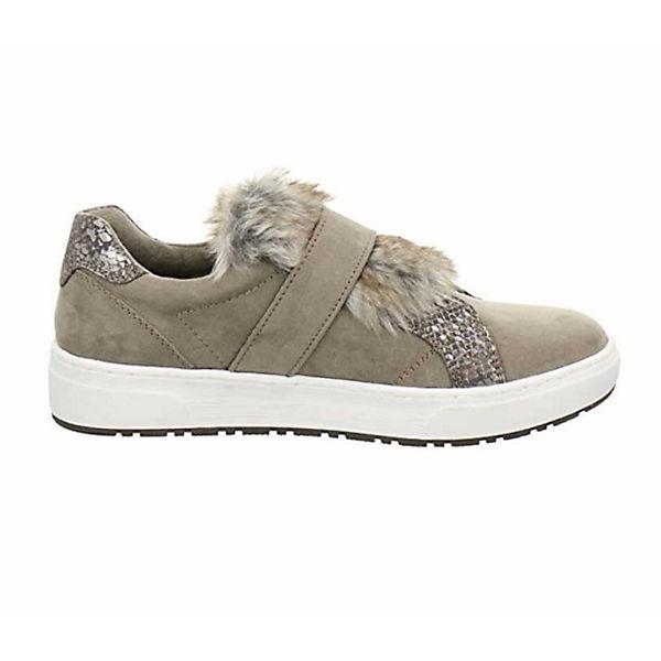 MARCO TOZZI, Klassische Slipper, grau    Gute Qualität beliebte Schuhe 5db759