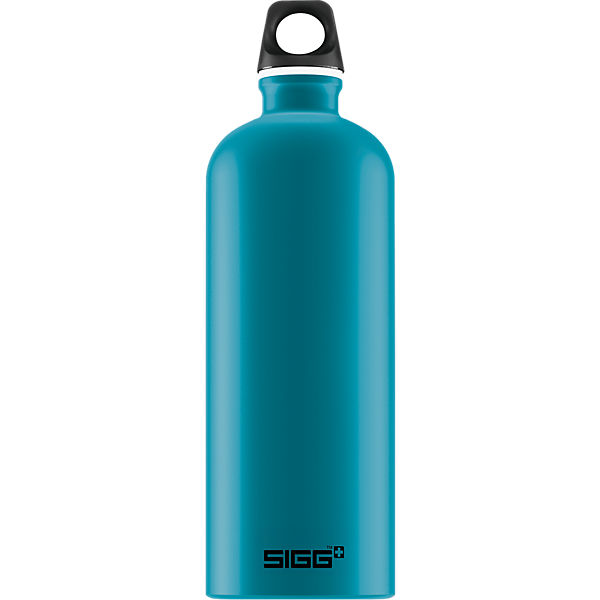 Alu-Trinkflasche TRAVELLER Teal, 1000 ml