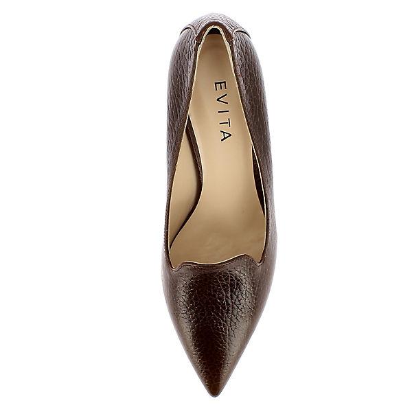 Evita Shoes ROMINA Klassische Pumps braun