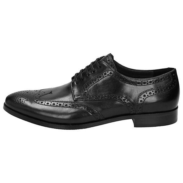 Sioux, Freizeit Schuhe Schnürschuh Nandor, schwarz  Gute Qualität beliebte Schuhe