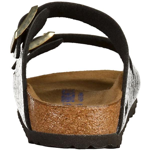 BIRKENSTOCK, Pantoletten Arizona, schwarz  Schuhe Gute Qualität beliebte Schuhe  c444d7
