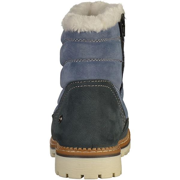 Darkwood, Winterstiefeletten, blau  beliebte Gute Qualität beliebte  Schuhe 8e168c
