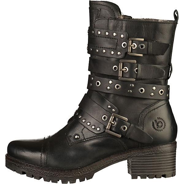 bugatti Biker Boots schwarz  Gute Qualität beliebte Schuhe