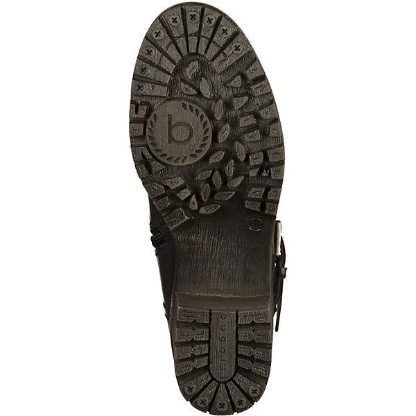 bugatti, Biker Boots, schwarz  Schuhe Gute Qualität beliebte Schuhe  c43fb9