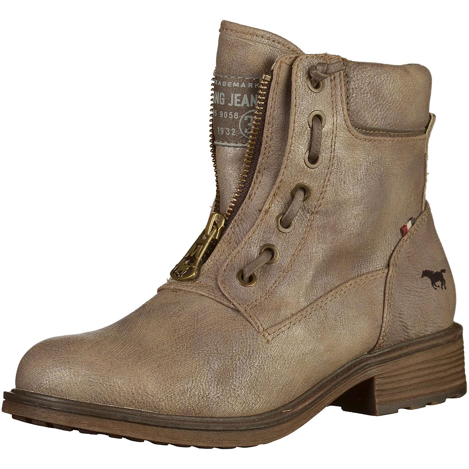 MUSTANG Biker Boots grau Damen Gr. 38