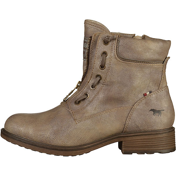 MUSTANG, Biker Boots, grau  Gute Qualität beliebte Schuhe