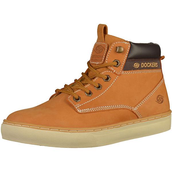 Ruhland Angebote Dockers by Gerli Sneakers High gelb Herren Gr. 46