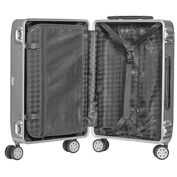 Packenger Alu Profesional Koffer Größe L silber