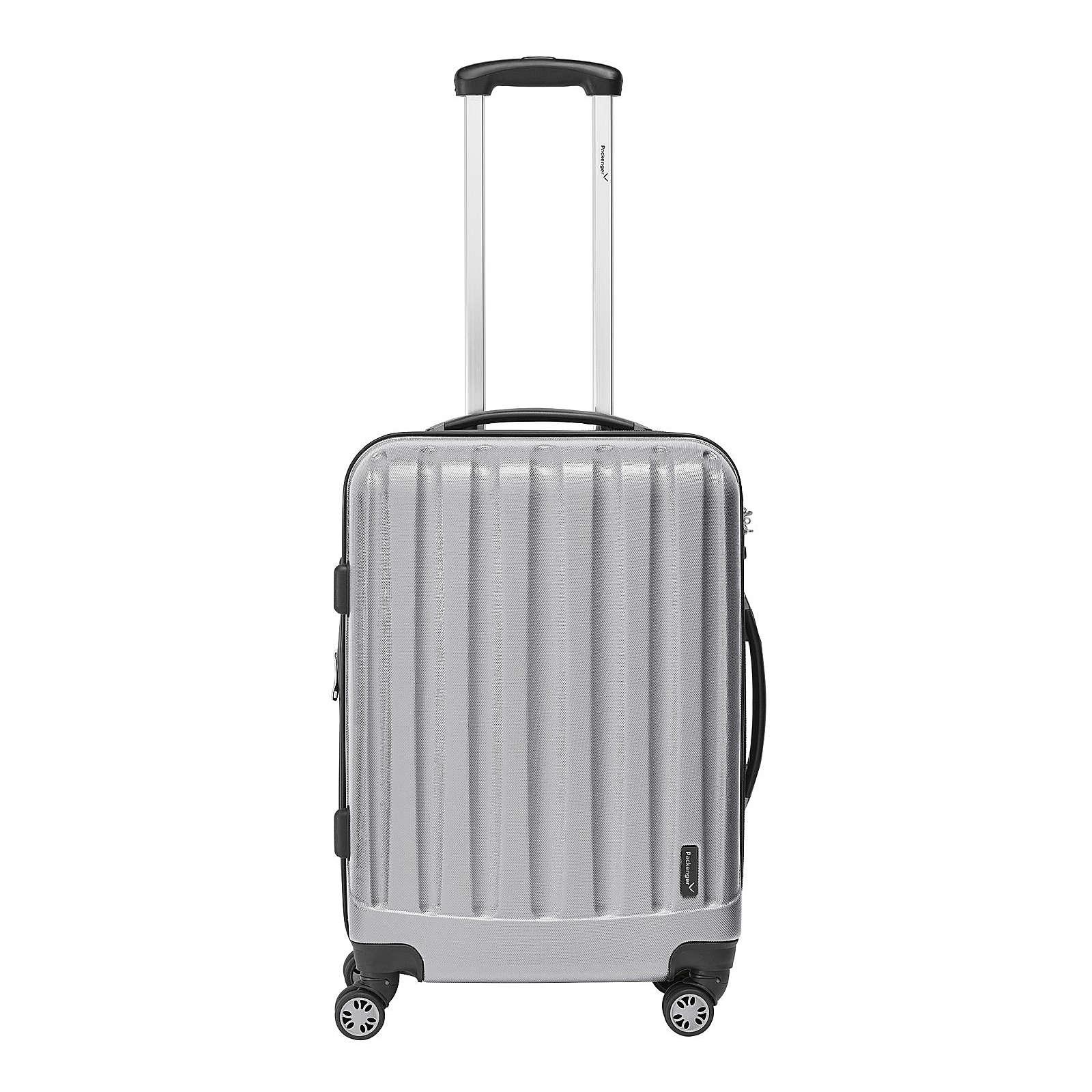 Packenger Koffer Velvet Business silber