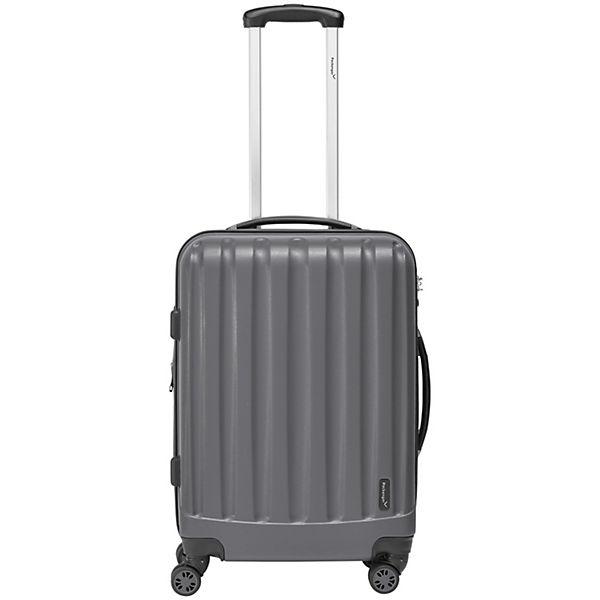 Packenger Koffer Velvet L grau