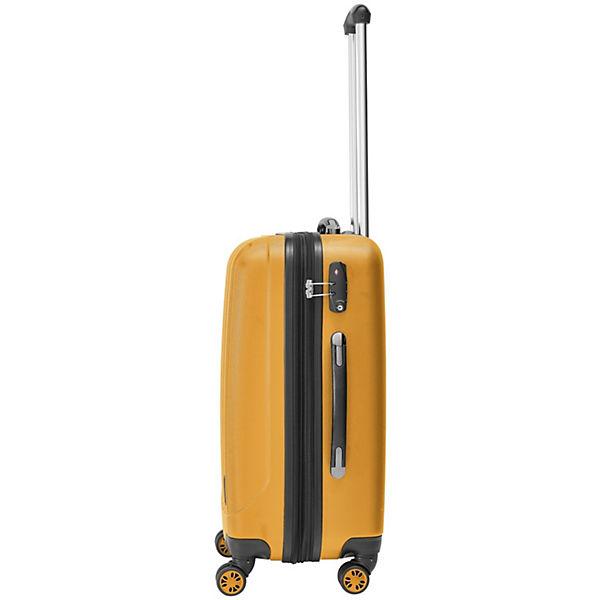 Packenger Koffer Velvet L orange