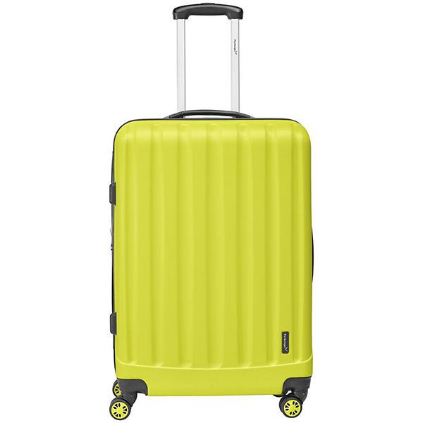 Packenger Koffer Velvet XL gelb