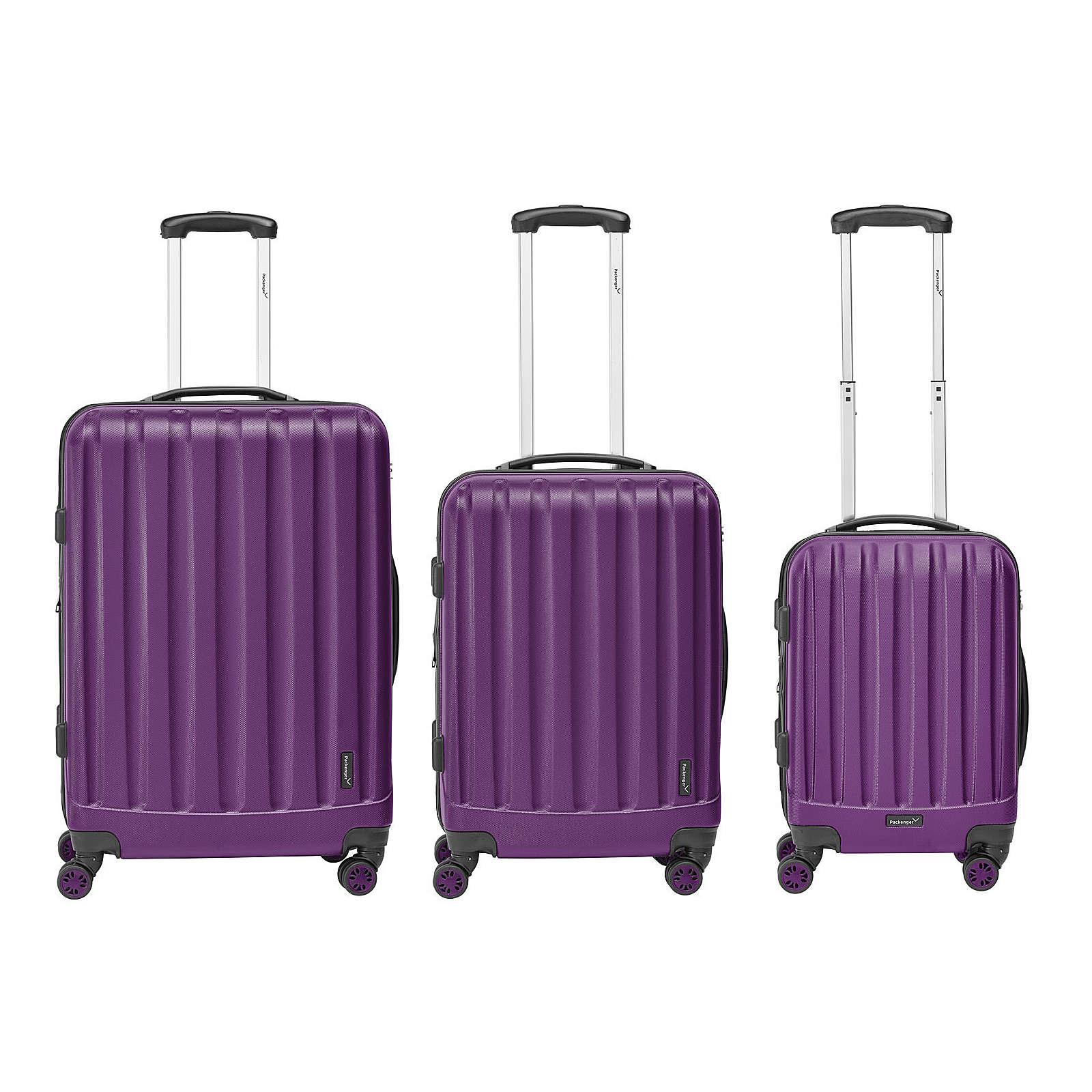 Packenger Kofferset 3er-Set Velvet lila