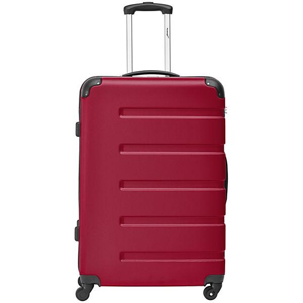 Packenger Koffer 3er-Set Marina M, L+XL rot