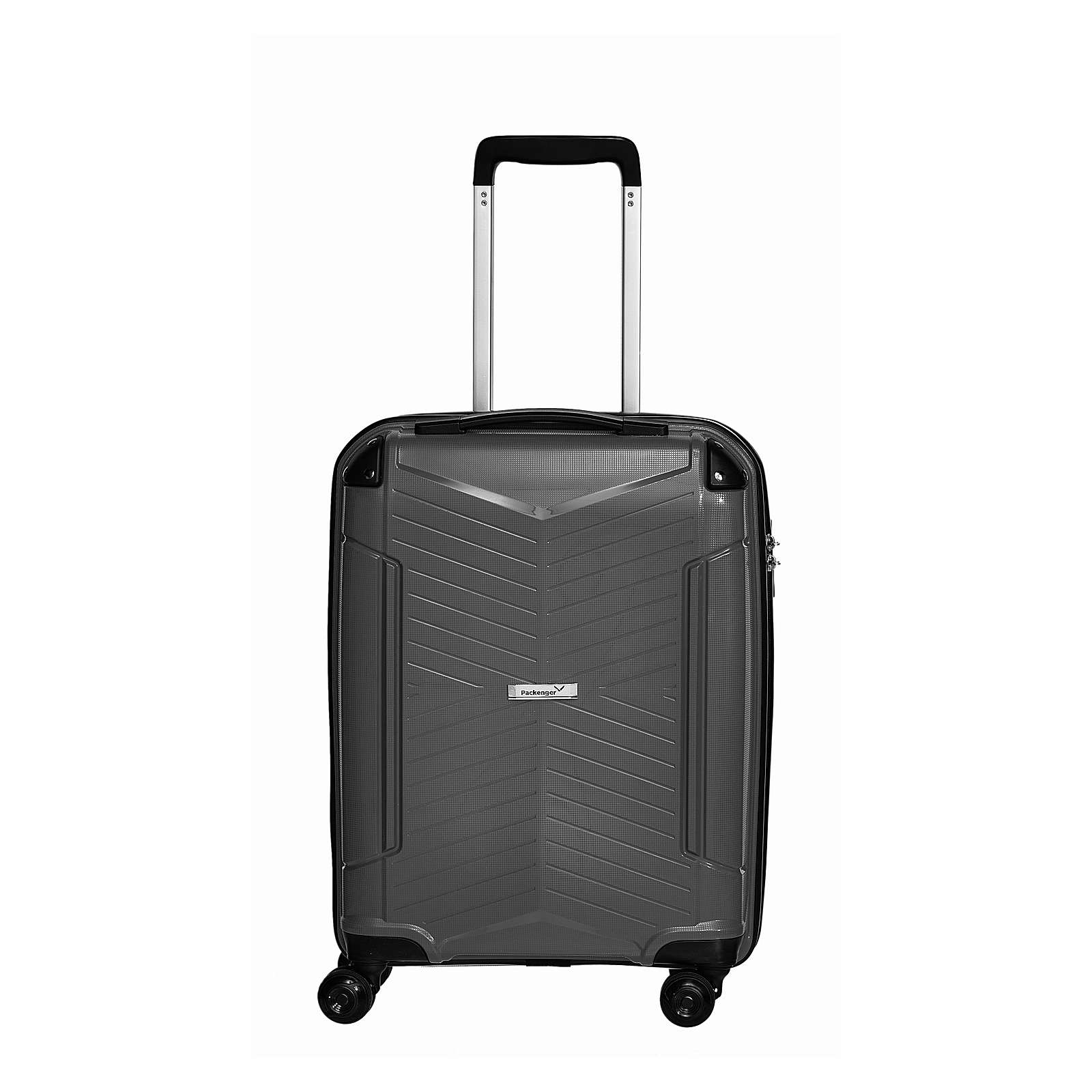 Packenger Koffer Premium Bordcase Silent schwarz