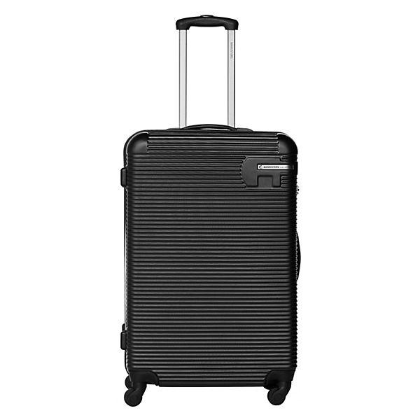 Packenger Koffer Bannisters Hudson Koffer 3er-Set Schwarz schwarz