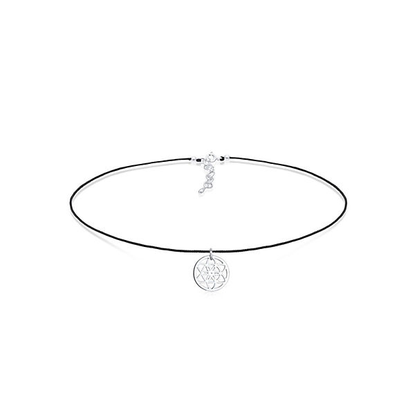Halskette Choker Ornament Trend Band 925 Sterling Silber
