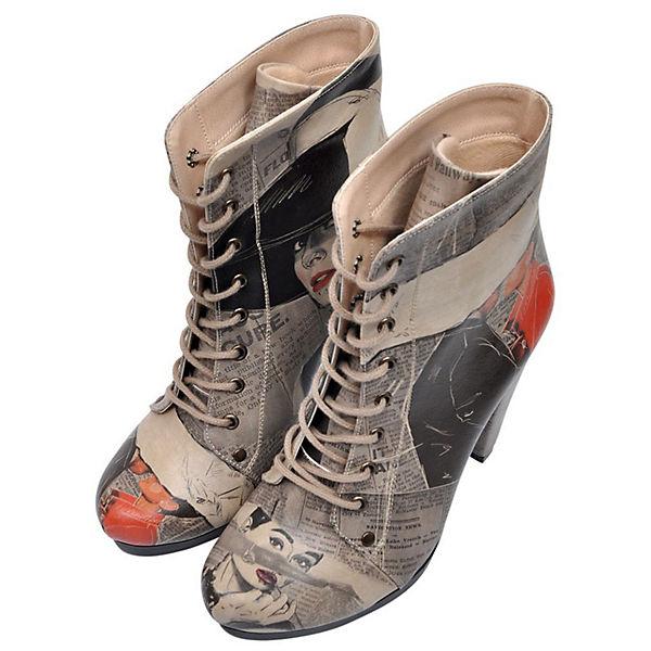 Dogo Schuhes, Schnürstiefeletten Chloe, mehrfarbig  Gute Qualität beliebte Schuhe