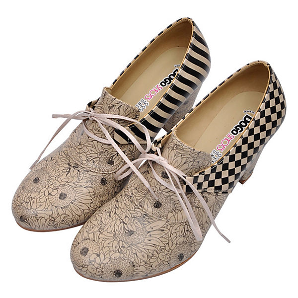Dogo Shoes, Ankle Boots   Lacewing, mehrfarbig    3b22bd