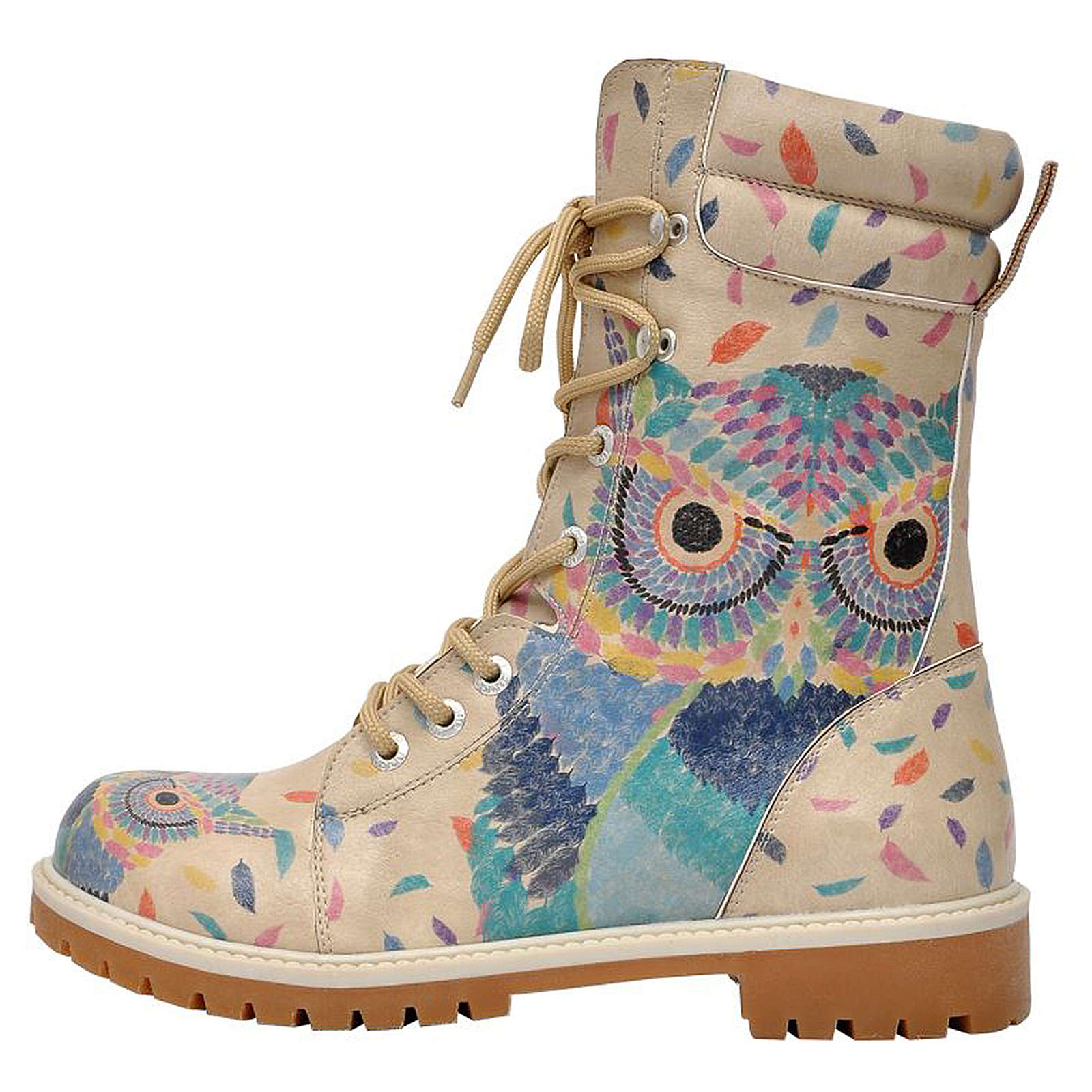 Dogo Shoes Schnürstiefel Super Boots mehrfarbig...