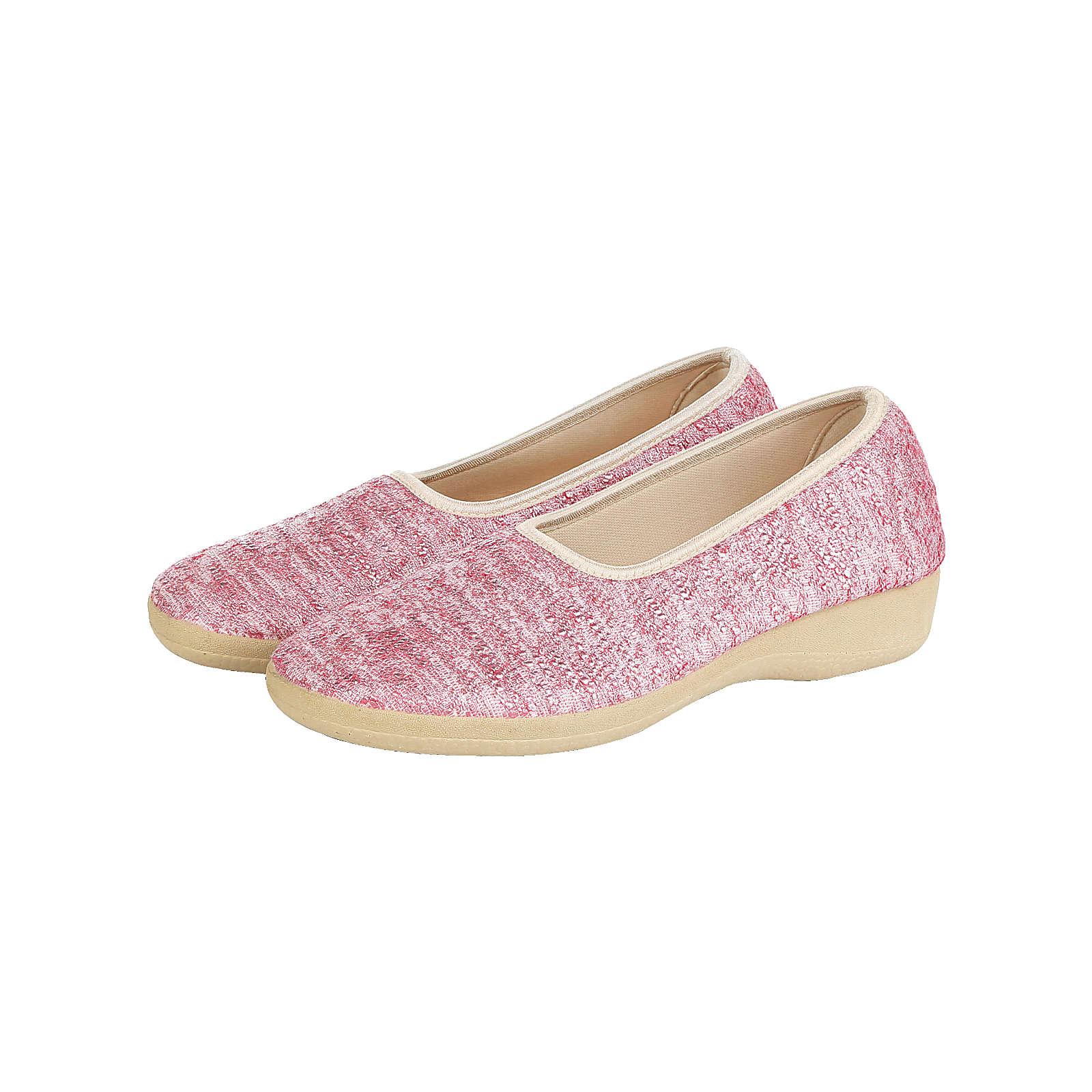 Naturläufer Komfort-Ballerinas rosa Damen Gr. 36