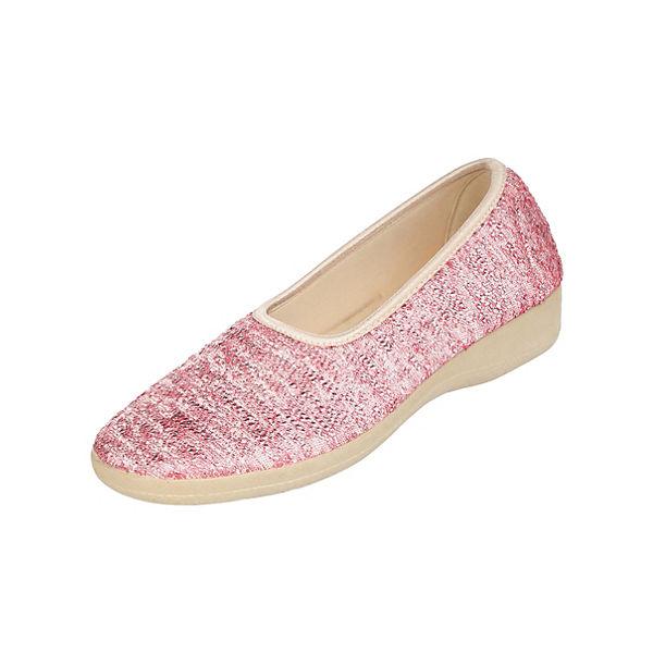 Naturläufer Komfort-Ballerinas rosa