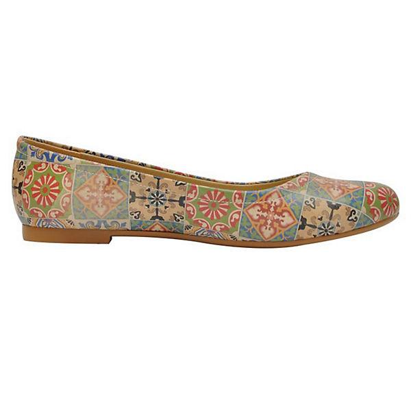 Dogo Shoes, Klassische Qualität Ballerinas, mehrfarbig  Gute Qualität Klassische beliebte Schuhe 87dd9b