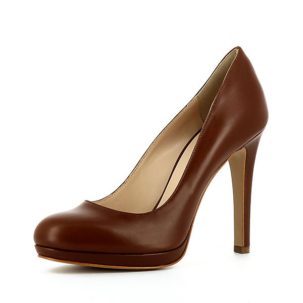 Evita Shoes Klassische Pumps CRISTINA cognac