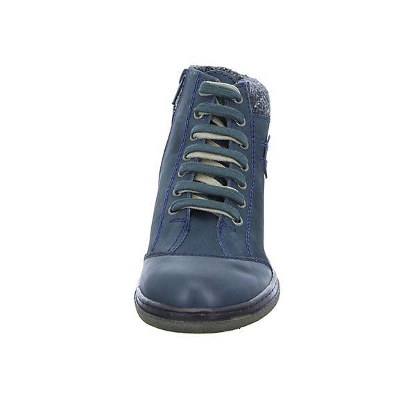 BOXX Schnürschuhe blau